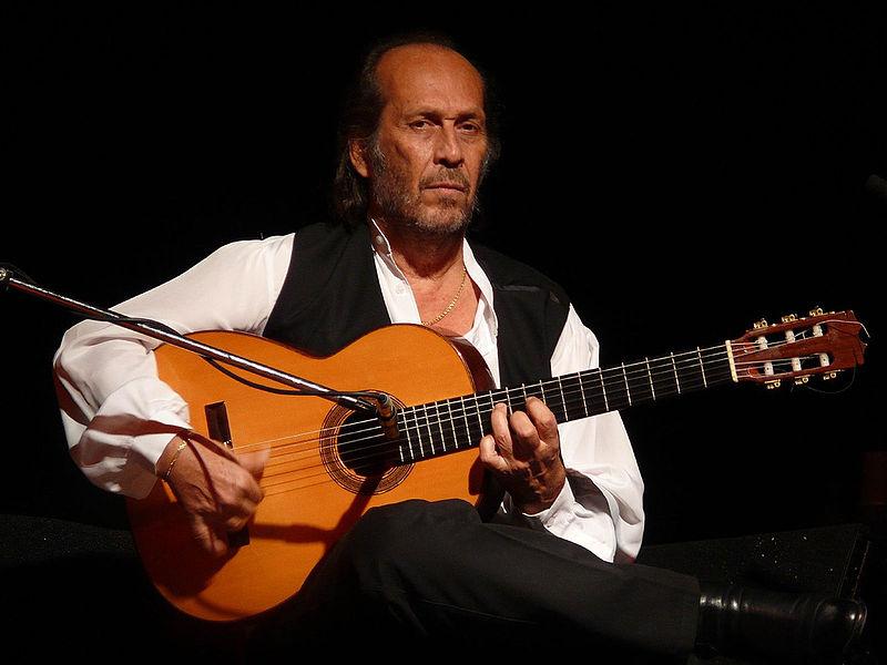 A guitarra flamenca de Paco de Lucía