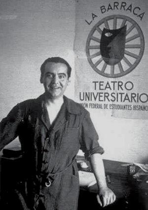 Federico García Lorca em La Barraca