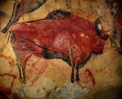 Bisão na Caverna de Altamira