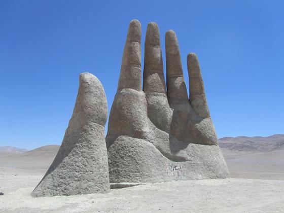 Mano del Desierto - Antofagasta - Chile