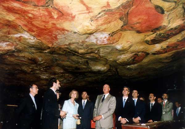 Os reis na Caverna de Altamira