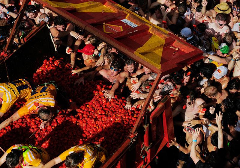 La Tomatina de Buñol - Espanha