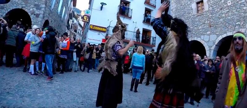 Os curiosos carnavais da Espanha