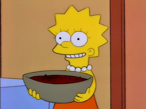Gaspacho - Lisa Simpson