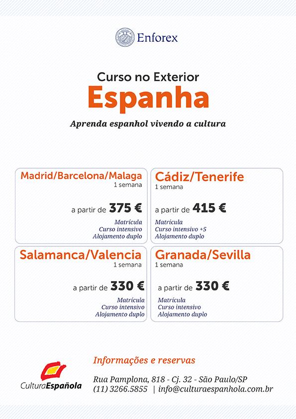 Curso de Espanhol no Exterior - Espanha