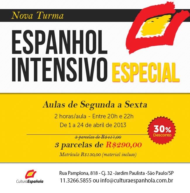 Curso de Espanhol Intensivo em São Paulo
