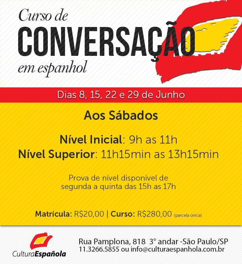 curso de conversacao em espanhol