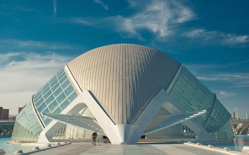 7 prédios da Cidade das Artes e das Ciências na Espanha