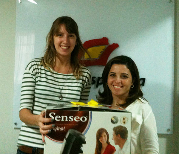 Confira quem ganhou a cafeteira Senseo da promoção de fim de ano da Cultura Española