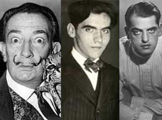 Dalí, Lorca e Buñel