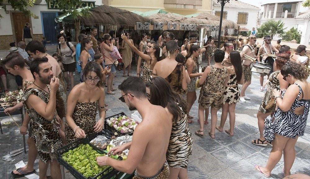 Las fiestas más surrealistas de España