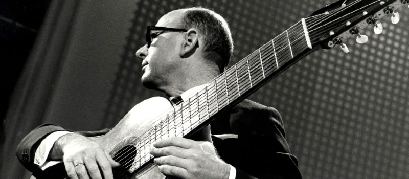 As 10 cordas da guitarra de Narciso Yepes
