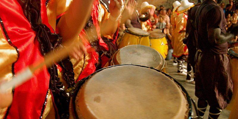 Os tambores do Candombe uruguaio