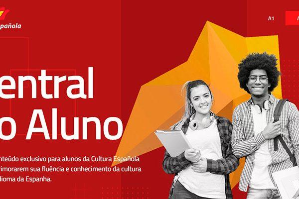 Conheça a Central do Aluno da Cultura Española