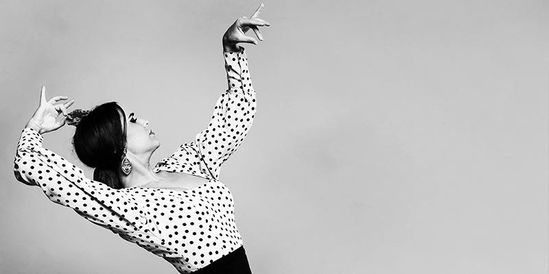Dançarina de flamenco