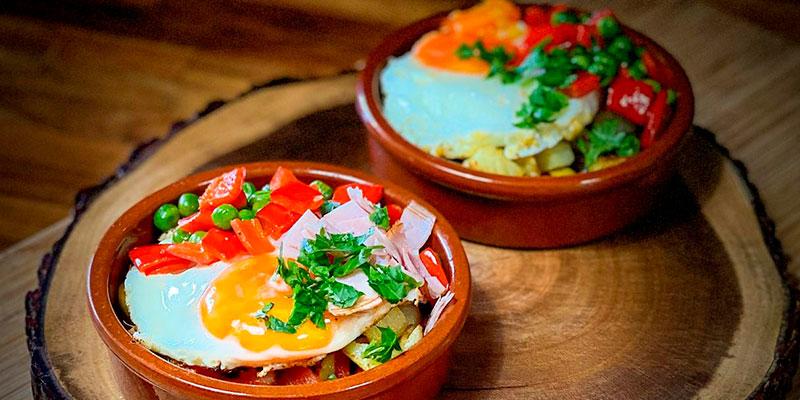 Receita de uma delícia andaluza: Huevos a la Flamenca