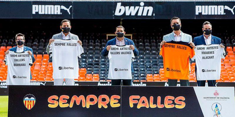 Valencia CF celebra as Fallas em todos os jogos  da LaLiga no estádio Mestalla