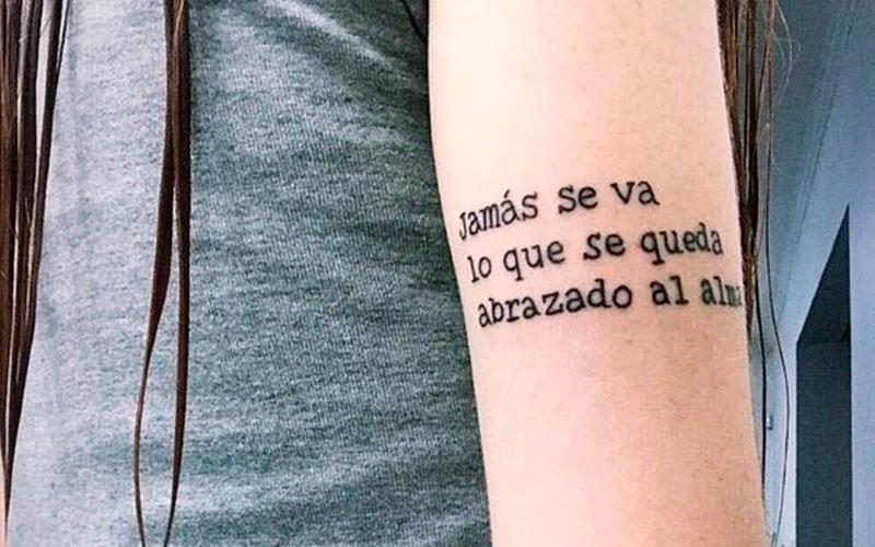 23 inspirações de tatuagens em espanhol para você