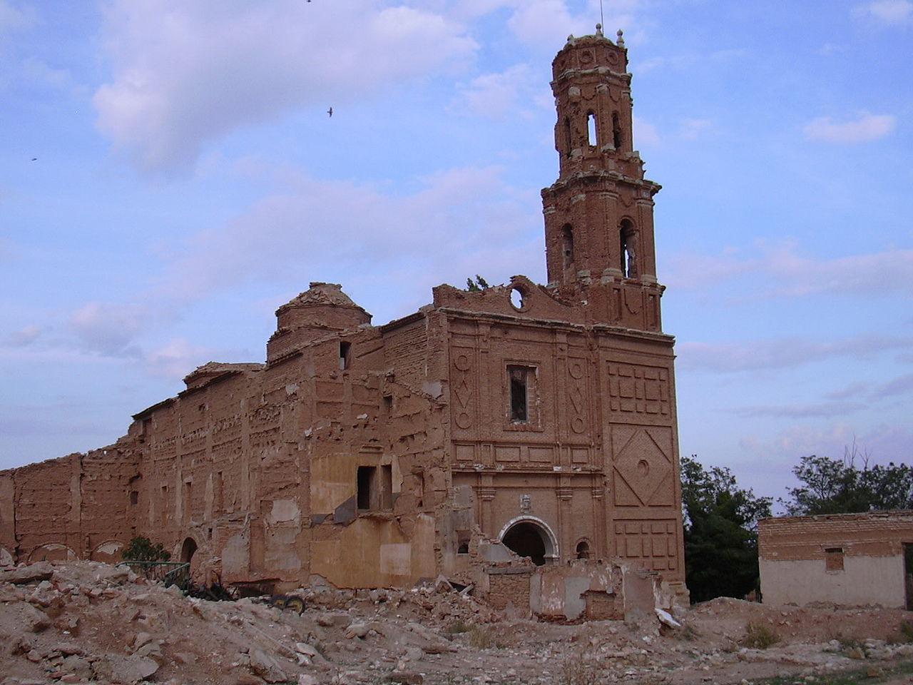 O horror da Guerra Civil Espanhola guardada em Belchite